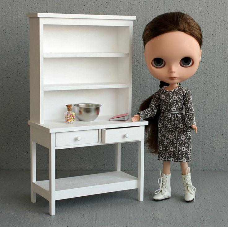 playscale hutch  #playscale #minimagine #fashiondoll #furniturefordolls