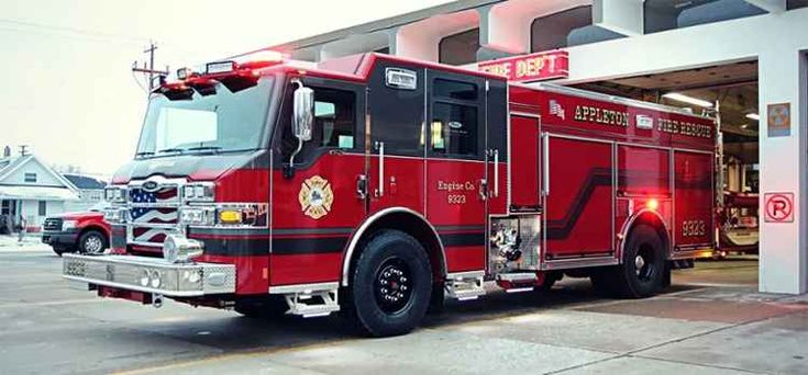 #Pierce Delivers the 2,000th Pierce Ultimate Configuration (PUC) Pumper - Fire Engineering - Appleton Fire Rescue (WI) - #Pumper #Rescue #Setcom #Fire #FireDept #Apparatus #Firefighting #NewDeliveries