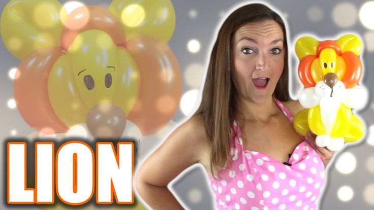 LION Balloon Animal Tutorial with Holly the Twister Sister!