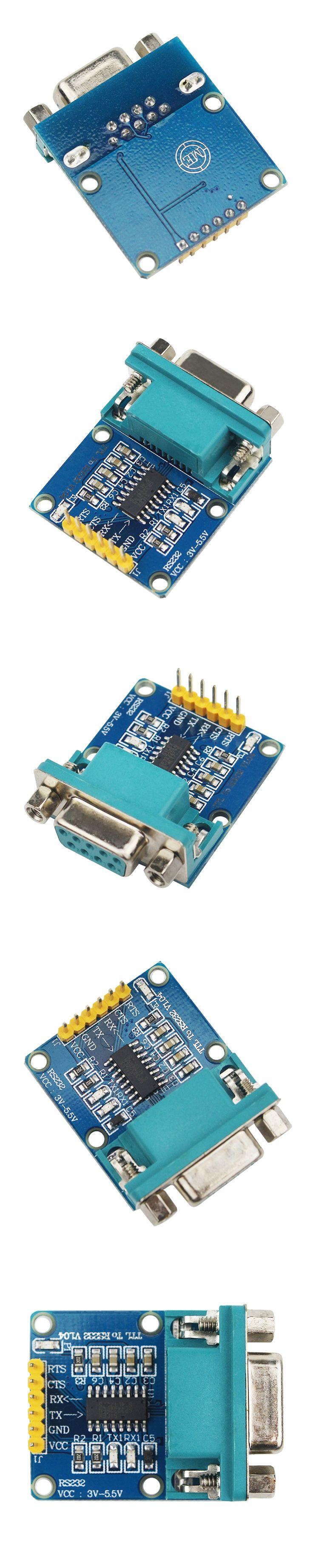 10pcs/lot RS232 to TTL Serial Port Converter Module