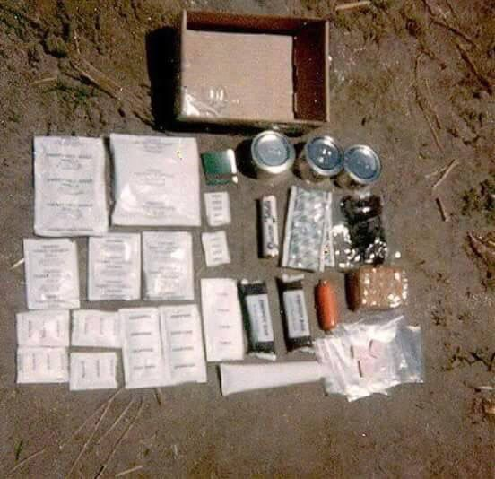 Army ration pack - fondly known as Rat-pack