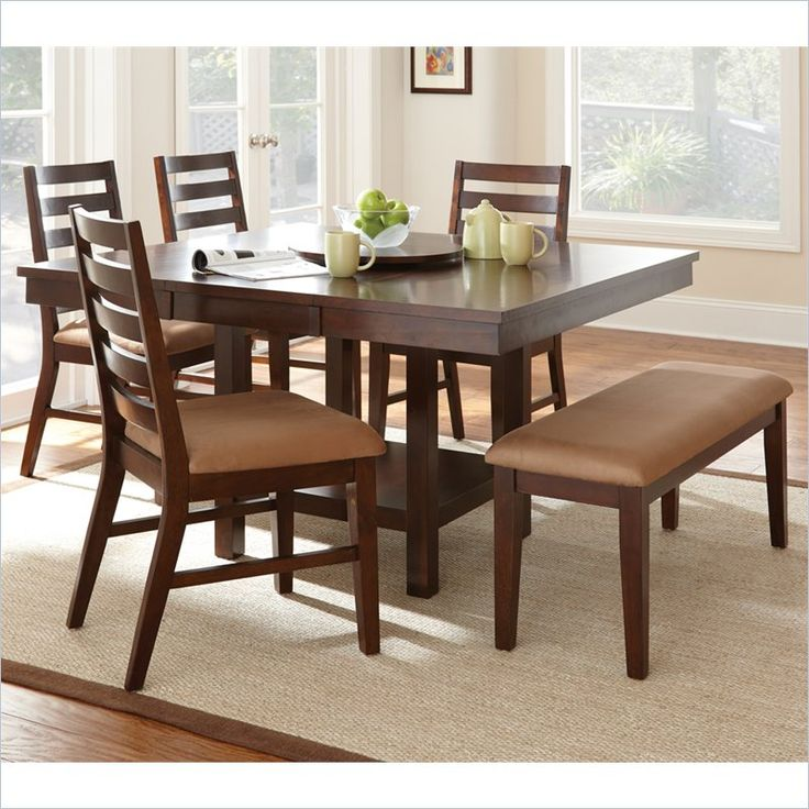 Eden Modern Dining Table With Leaf In Cherry Part 48