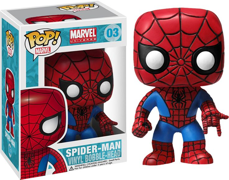 He's just your friendly neighbourhood Spider-man, and now you can get him in Pop! Vinyl form! Proudly brought to you by Popcultcha - Australia's largest and most comprehensive Pop! Vinyl Online Store. Clickhereto see our full range of Pop! Vinyl collectables.