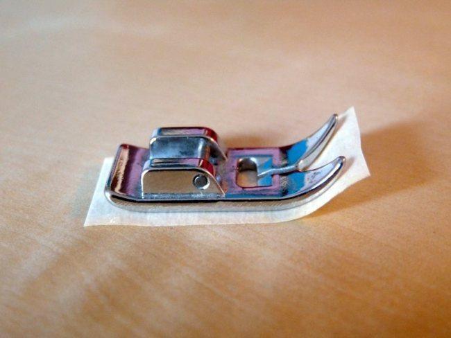 Truco para coser telas imposibles a máquina