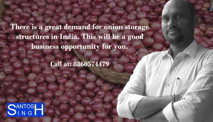 #Onion production continues throughout the year. But there is deficit of storage capacity of onion. Present storage capacity is about 4.6 lakhs tonnes in #India and there is a need to increase the storage space of onions by installing #onion_storage structures. #Adviser,#consultant,#paper_industry,#business,#business_advisor