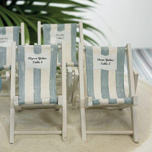 Miniature Folding Beach Chairs - Weddingstar