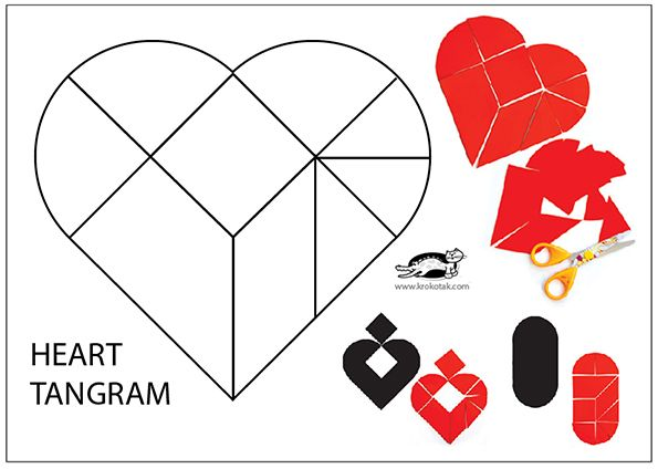 TANGRAMS for Grade-Schoolers gebroken hart