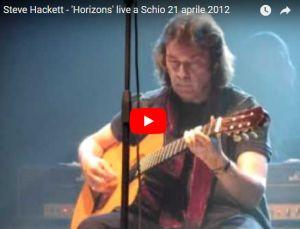 #NowPlaying 21 Apr.: Special Steve Hackett Schio Italy, 2012 – VIDEO: www.horizonsradio.it