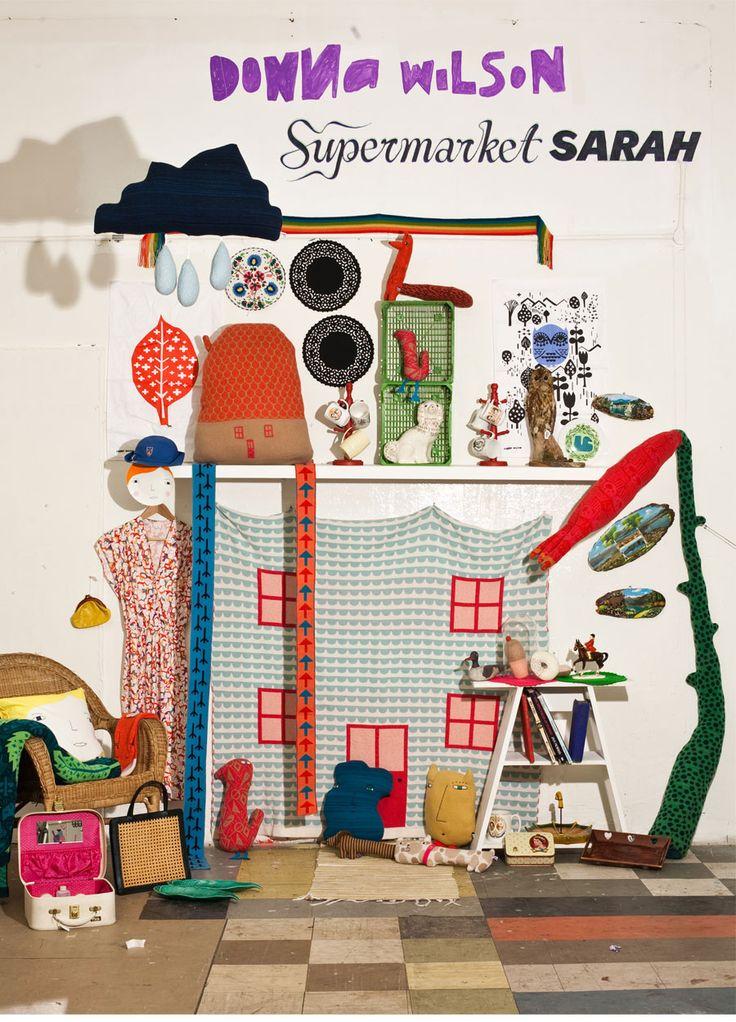 concrete and honey: Supermarket Sarah