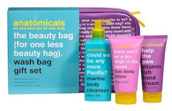 Anatomicals Wash Bag Gift Set