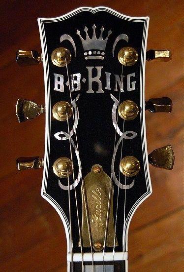 Gibson BB KING Headstock