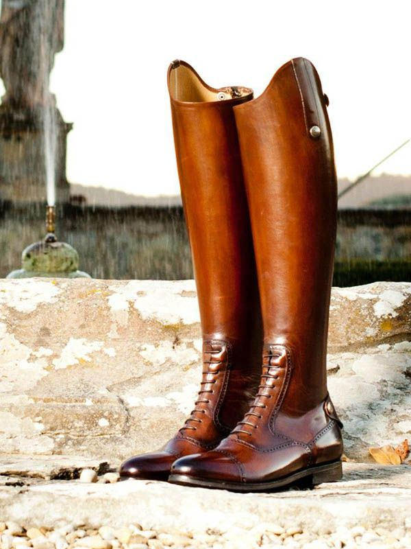 Alberto Fasciani boots - check out the Italian Equestrian quality on equestyle.com -WOW