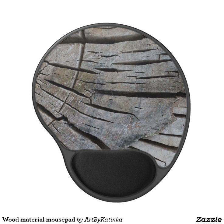 Wood material mousepad