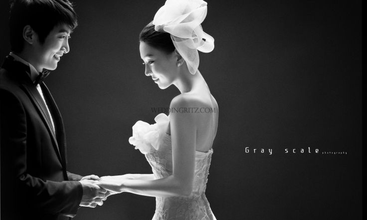 Korea Pre-Wedding Photoshoots by WeddingRitz.com » Korea wedding photographer - Gray Scale studio.