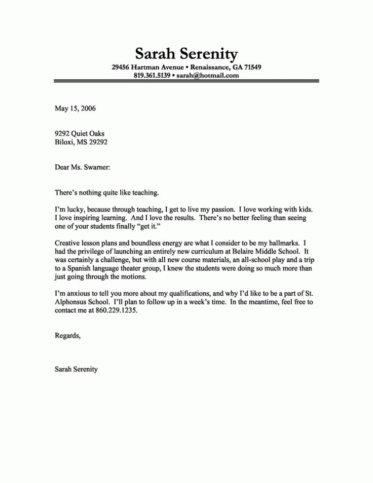 143 best Resume Samples images on Pinterest Resume examples - teacher letter of resignation