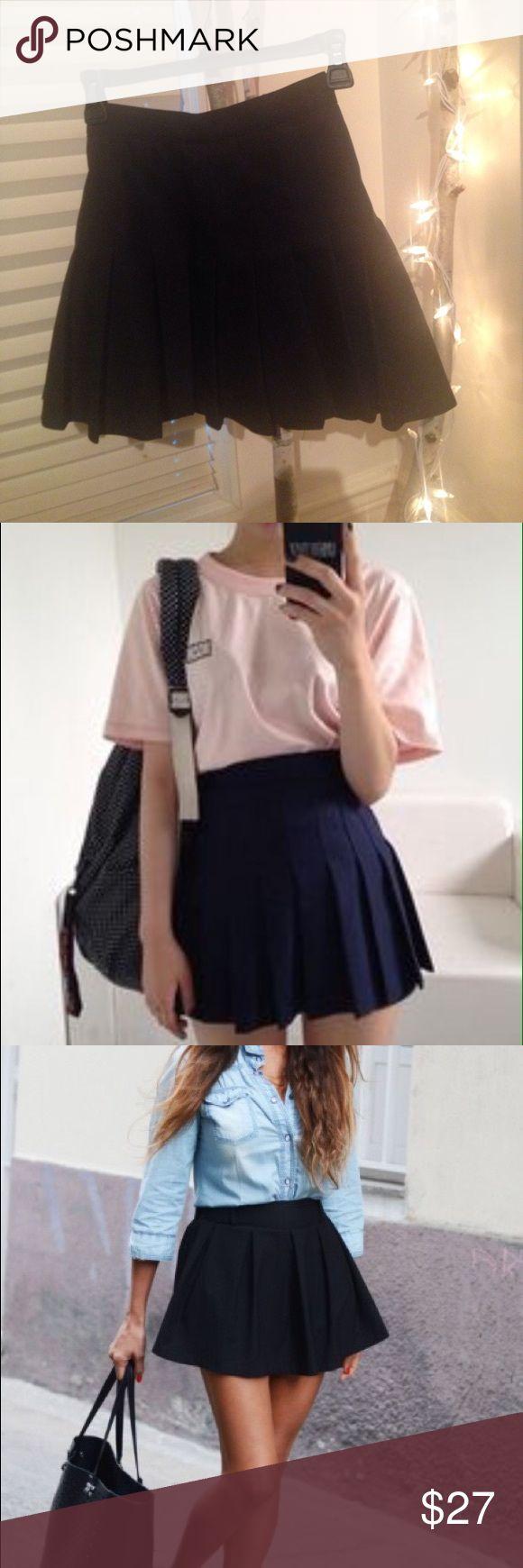 Selling this American Apparel Tennis Skirt on Poshmark! My username is: nancy0023. #shopmycloset #poshmark #fashion #shopping #style #forsale #American Apparel #Dresses & Skirts