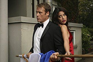Mark Valley and Emmanuelle Vaugier in Human Target (2010)