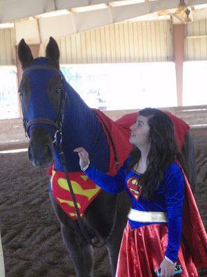 Superhorse & Supergirl