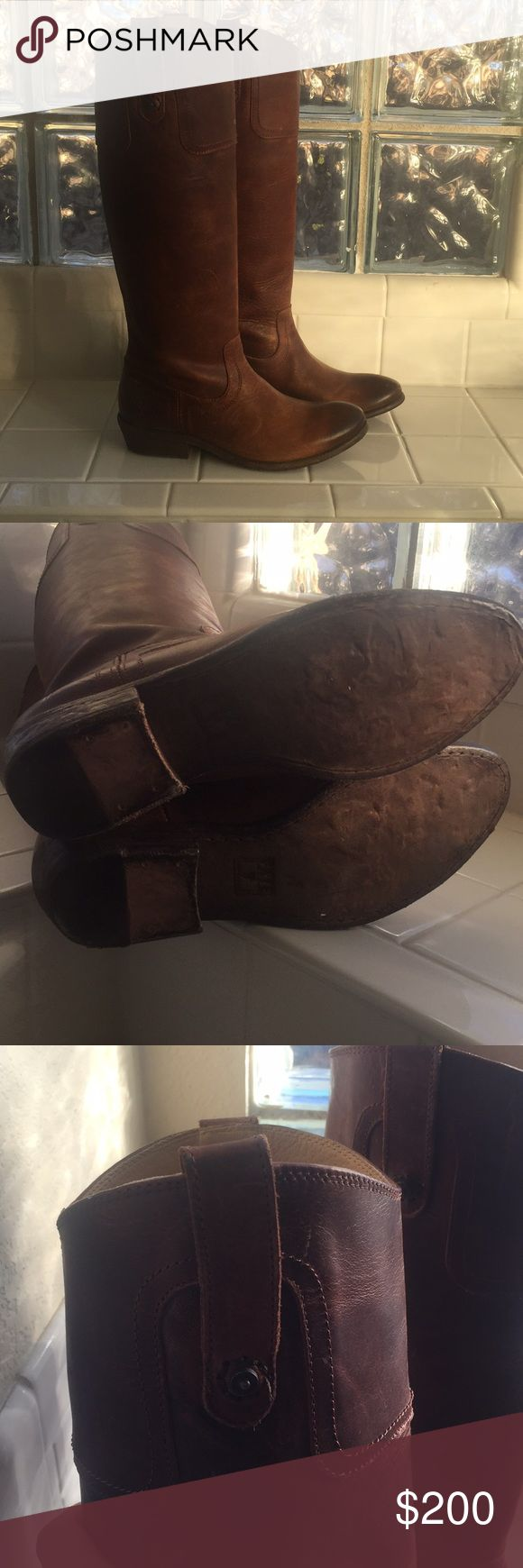 Frye tall boots Frye Carson tall boots, the perfect item in you fall/winter attire! Frye Shoes