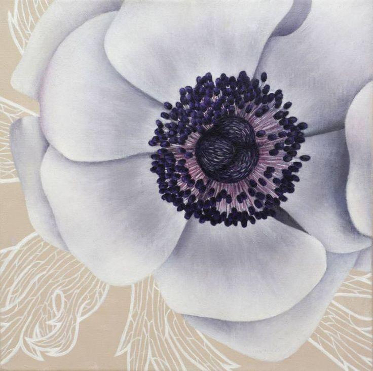 "Saatchi Art Artist Alexandra Calin; Painting, ""Anemona"" #art"