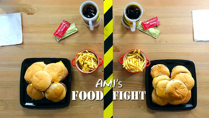 Ami's FoodFight ft Maliatsis