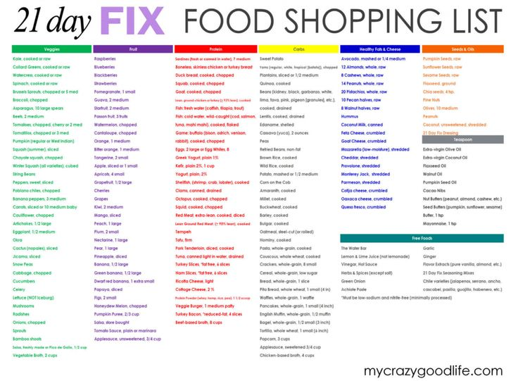 There always seem to be updates for the 21 Day Fix! In addition to multiple YouTube updates from Autumn, there's an updated 21 Day Fix food list.