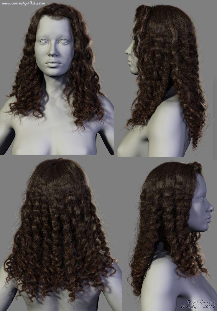 ArtStation - 2012 Hairstyles 03, Dani Garcia