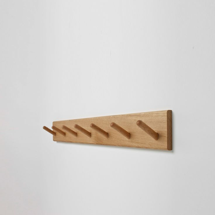 Wooden Coat Hook Rail Woodworking Projects Amp Plans