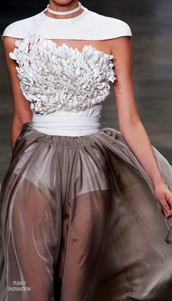 Stephane Rolland Haute Couture Spring 2013 Women's Fashion | Purely Inspiration @sommerswim