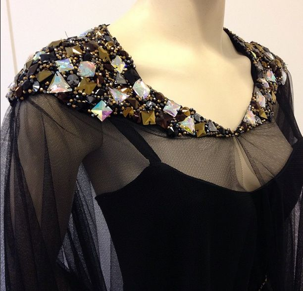 #dress #kathrynmilan #fashion #clothes #designer #crystals #diamonds #showroom #collection #amsterdam #black