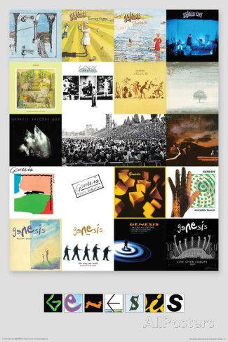 Genesis- Albums Prints at AllPosters.com