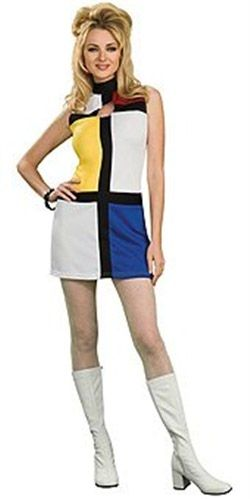 60's Mondrian Mod Costume