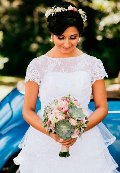 60 buquês de noiva RÚSTICOS maravilhosos para você se inspirar! Image: 40