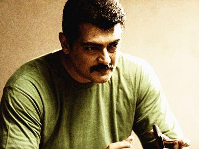 Tamil Actor Ajith tries Rajinikanth's cool style