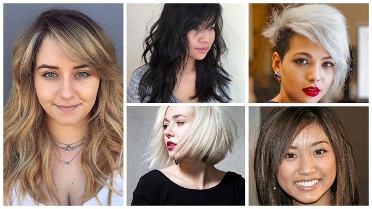 Top Frisuren für runde Gesichter 2019 – #frisuren #madame #frisur #hairstyle #hairstyles –  –