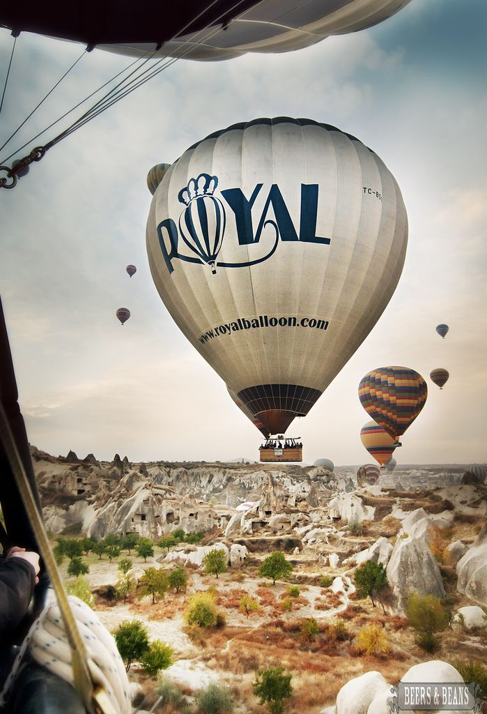 Hot Air Balloon Ride in Cappadocia, Turkey » I would love to do this! Have you been?