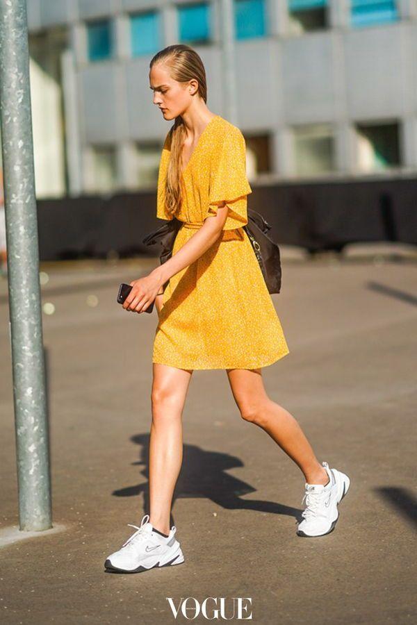 Perfekte Zum Funktionieren Der Sneaker Kleid SommerlookSo 9HDIeWYE2