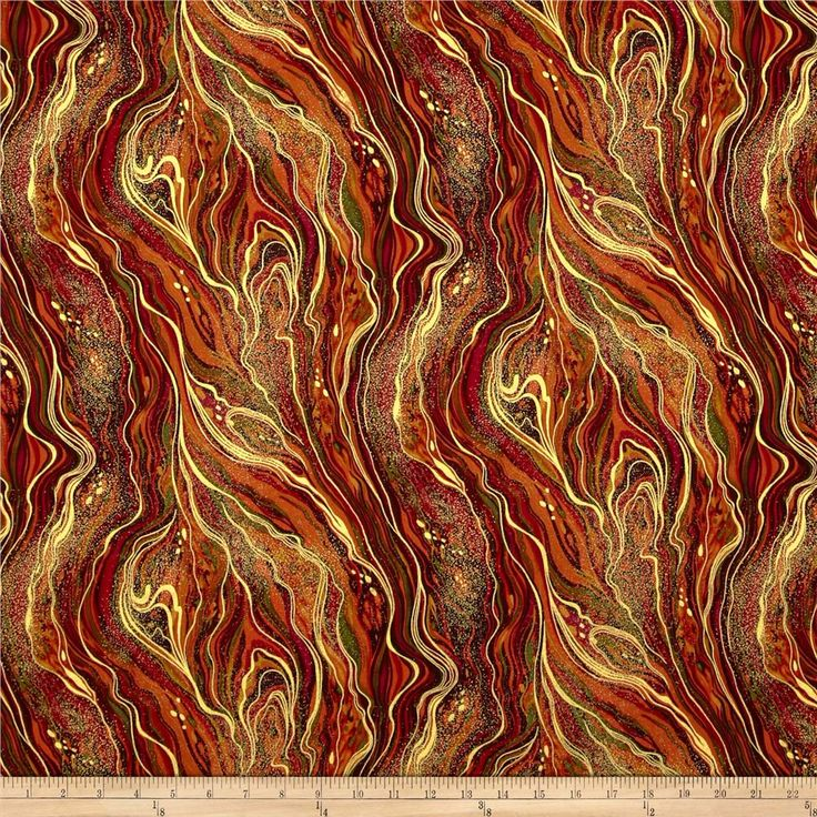 Timeless Treasures Palazzo Marbled Metallic Harvest from @fabricdotcom $10.98 Designed for Timeless Treasures, this cotton print fabric is perfect for quilting, apparel and home decor accents. Colors include metallic gold, burgundy, brown, orange and maroon.