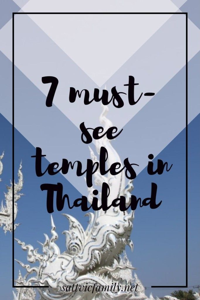 7 must-see temples in Thailand