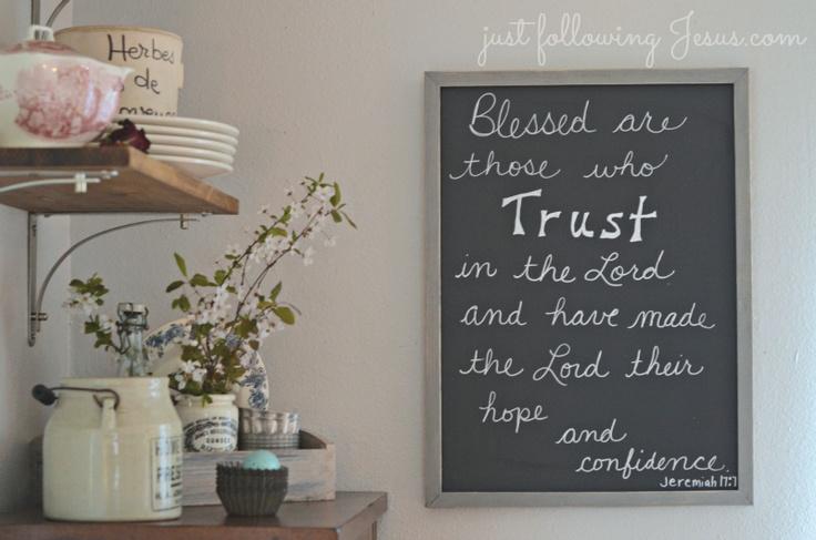 Just following Jesus in my real life...:   chalkboard Bible verse