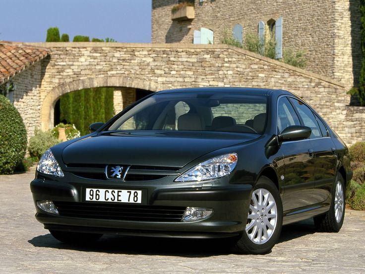 Front Peugeot 607