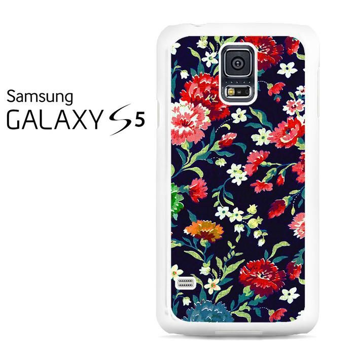 Embroidery Floral Samsung Galaxy S5 Case