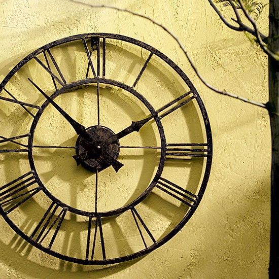 25 best ideas about outdoor clock on pinterest rustic