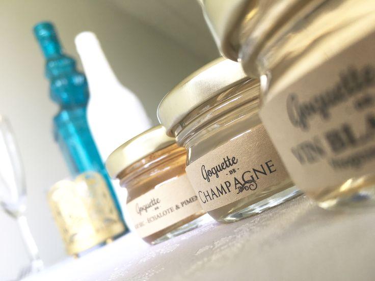 Cadeaux d'invités : nos Goguettes de Vin Blanc Champagne, Viognier et Muscat Sec