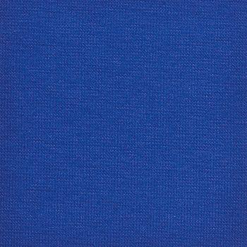 Rib/Stretchjersey Kobalt