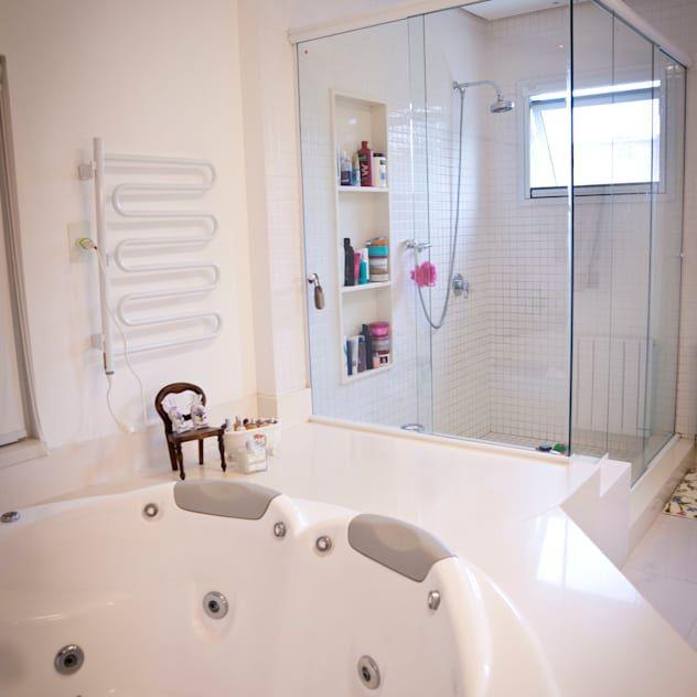 あなたのバスルームにどうぞ 素晴らしいシャワー室 バスタブ9選 Homify 2020 シンプル バスルーム バスルーム おしゃれ バスルーム インテリア