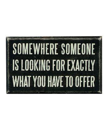 'Somewhere?