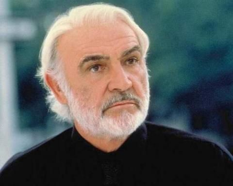 Sean Connery, whatever age you are, whatever age he is.