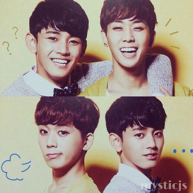 MYNAME ,Seyong and Chaejin!