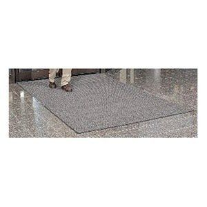 Entrance Mat, Gray, 3/8 In, 6 ft x Custom by Notrax. $39.53. Entrance Mat, Heavy Traffic, Material Yarn, Vinyl (Backing), Color Gray, Custom Length, 6 ft. Width, 3/8 In. Thickness, Backing Heavyweight Vinyl Non-Slip, Design Herringbone Pattern, Construction Non-Directional Scraping Action And Moisture Retention